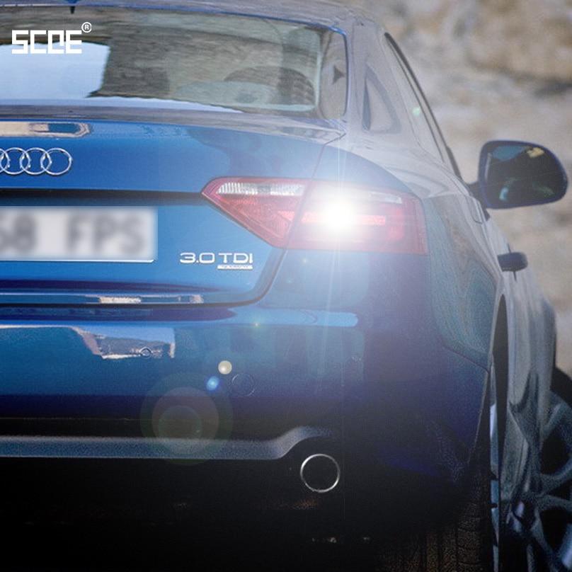 Для Audi A5 A5 (8T3) A6 (C7) A6 Avant A7 Sportback SCOE 2015 Новинка 2X22SMD супер яркий задний свет Стайлинг автомобиля