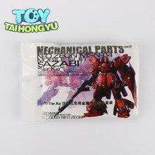 TAIHONGYU métal nouveau Set détails pièce pour Bandai 1100 MG Sazabi ver Ka Gundam ensemble modèle Kit jouets