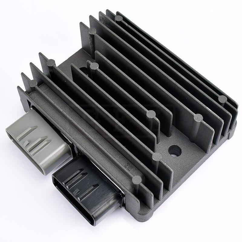 Para Honda TRX 420 ranchero FE FM TE TM 2007, 2008, 2009, 2010, 2011, 2012, 2013 TRX420 de MOS regulador de tensión regulador rectificador 12V 12V
