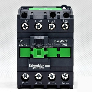 New Original Schneider LC1-E EasyPact TVS Series LC1-E3210M5N 15KW-380V 32A Contactor Updated To LC1-N3210M5N