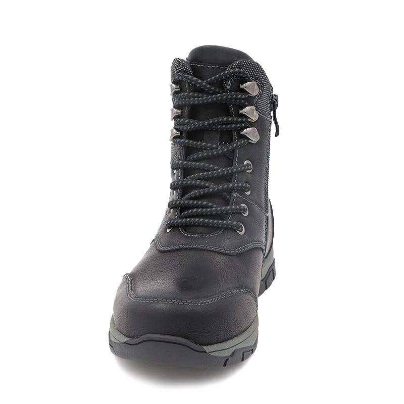 Cute eagle Winter Felt  Boots Winter Ankle Woolen Plush Warm Retro Boys Snow Boots Children School Outdoor EU Size Shoe 32-37 enlarge