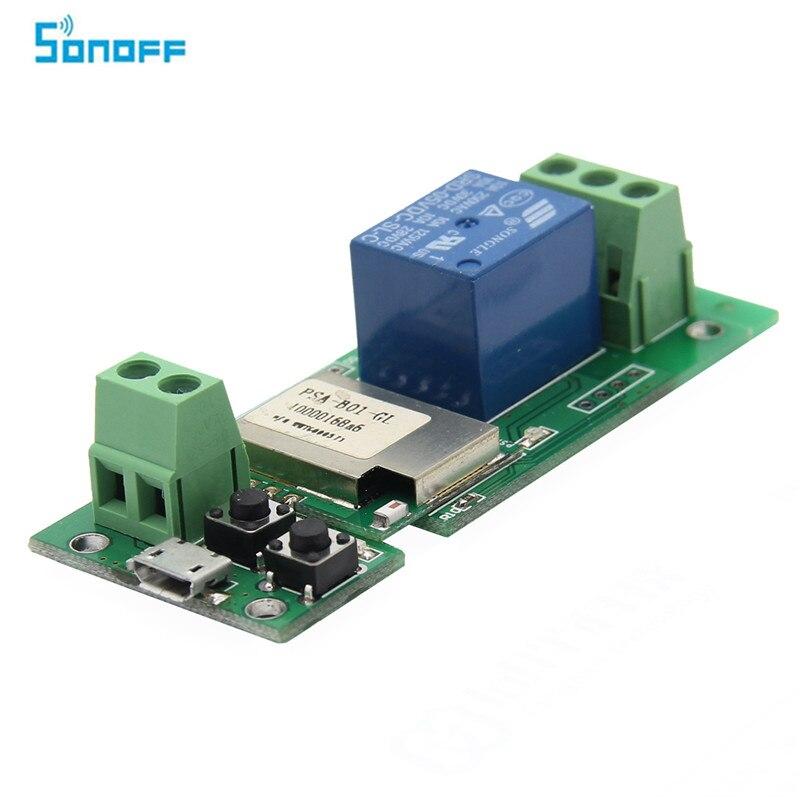 SONOFF USB 5 v DIY 1 Kanal Jog Tipp Self-locking WIFI Wireless Smart Home Schalter APP Fernbedienung Modul für IOS/Android