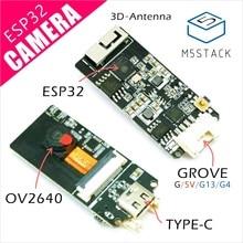M5Stack Official ESP32 Camera Development Board OV2640 Camera Type-C Grove Port 3D Wifi Antenna Mini Camera Board