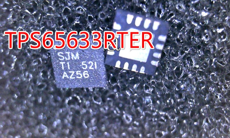 5 PCS TPS65633RTER TPS65633 SJM QFN