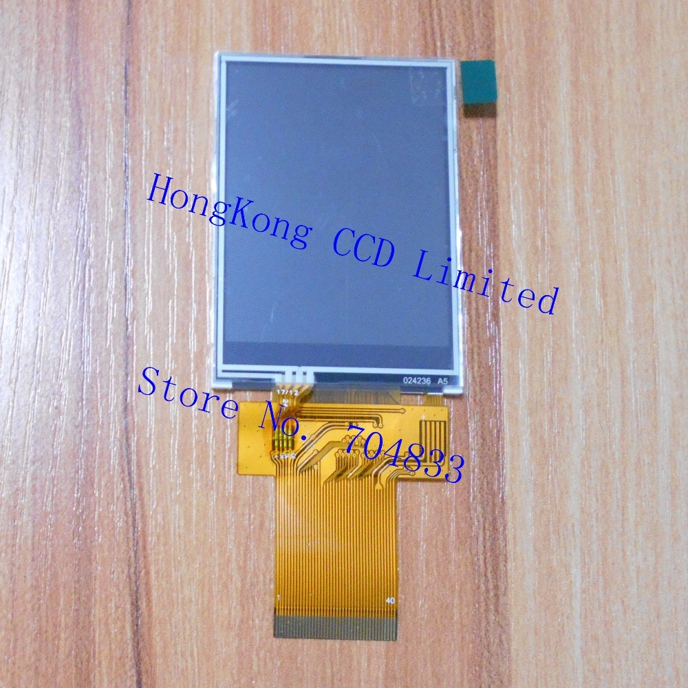 Z240IT008 2,4 pulgadas TFT LCD touch 40pin 240*320 SPI 3 cables 4 cables puerto serial 8-bit 16-bit paralelo ILI9341