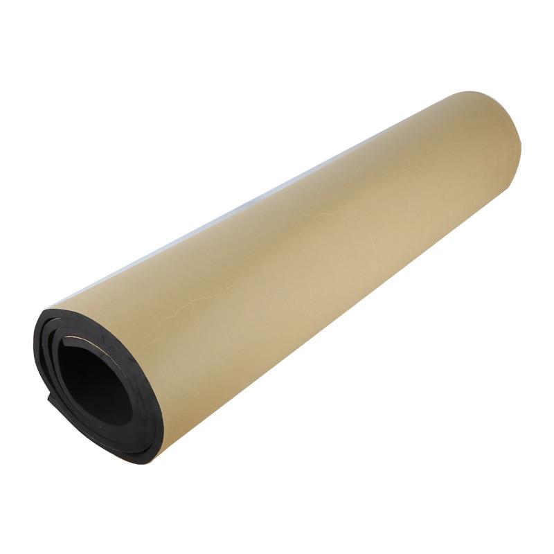 مخصص EPDM النيوبرين لاصق ورقة لوحة الشريط العزل طوقا وسادة 500 مللي متر x 2000 مللي متر 1/2/3/4/5/6/8/10/12 مللي متر 2 قطعة الأسود