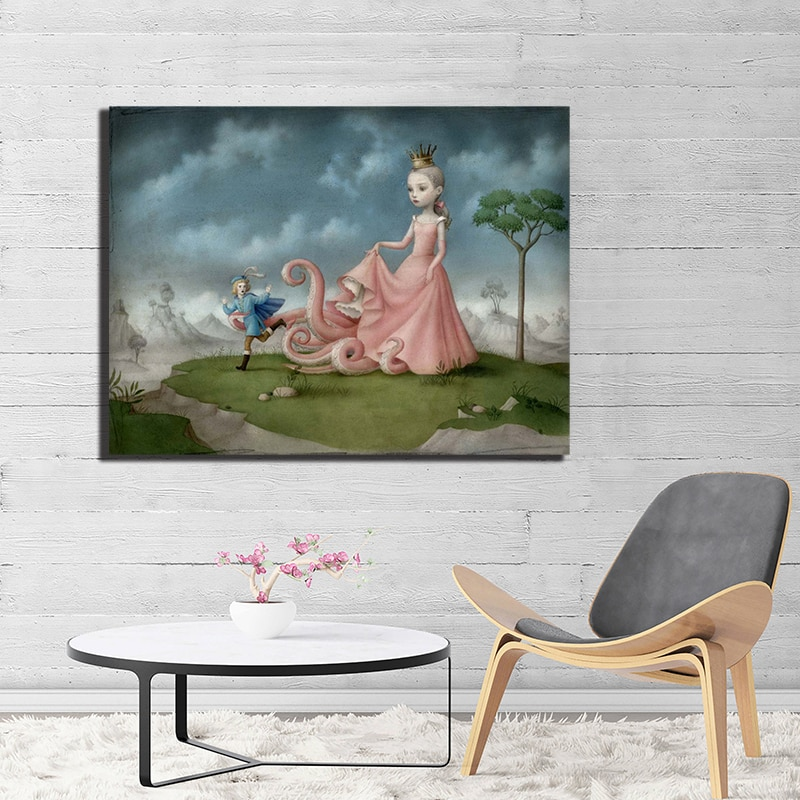 Los pies de la Reina por Nicoleta Cecc carteles de lona impresiones...