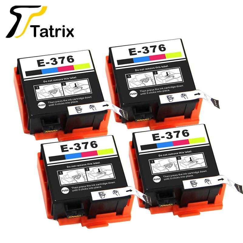 Tinta de inyección de tinta ttrix Integration T3760 T376 para Cartucho de tinta Compatible Epson con Chip adecuado para Epson PictureMate PM-525