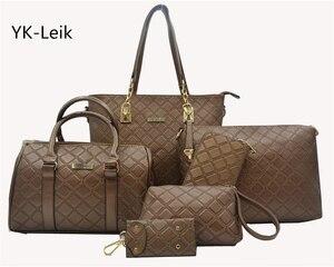 YK-Leik European and American luxury handbags women bags designer Shoulder Bags casual tote bag PU leather handbag bolsas femina
