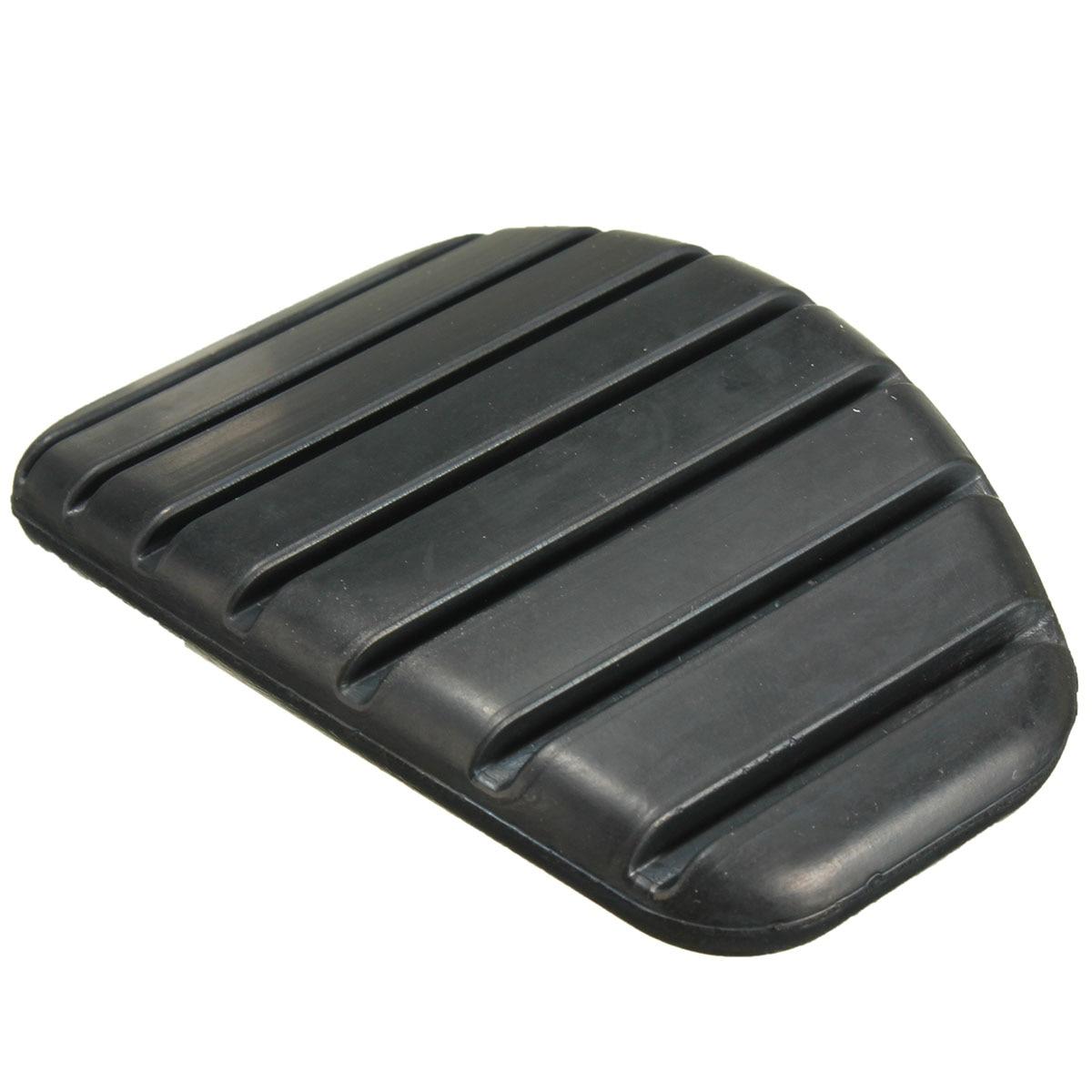 Carro auto universal preto borracha freio pedal de embreagem para renault clio ii kangoo megane ii