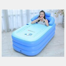 Bathtub Adults Portable Plastic Bathtub Inflatable Bath Tub  For Adult Inflatable Hot Tub PVC Inflatable Bathtub Folding Spa Tub