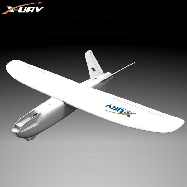 X-uav Mini Talon EPO 1300mm Wingspan v-tail FPV Rc modelo de avión Kit de avión
