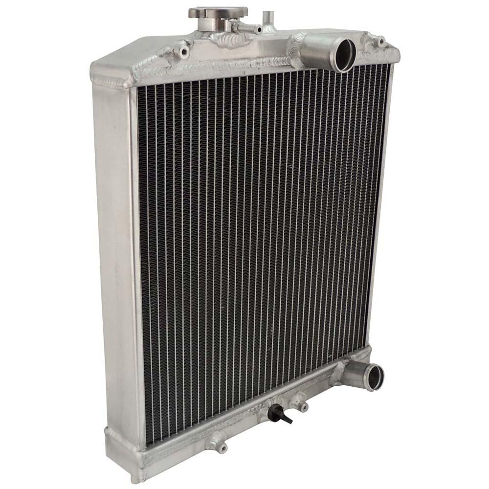 2 filas 28MM IN/OUT tubo de aluminio radiador 92-00 para Honda para Civic EK EG D15 D16 B16 B18