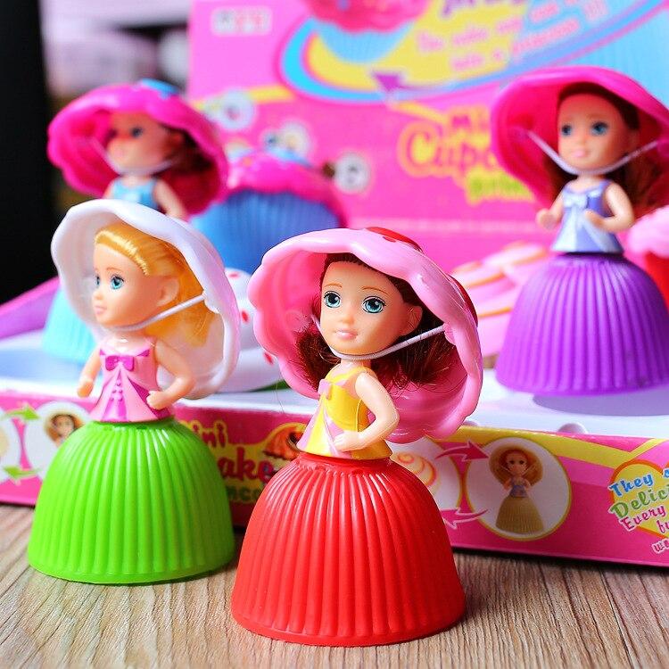 2018 Мини мультфильм прекрасный кекс принцесса кукла трансформированная