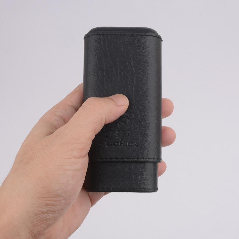 COHIBA Mini Cigarillos Cigars case Davidoff-Nicaraguan-Mini cigar case mini cigar holder Для Cigarillos Platinum