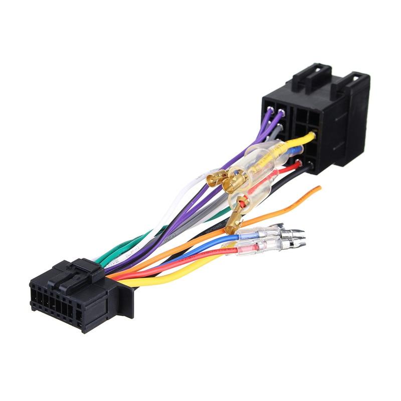 Автомобильный стерео радио ISO жгут проводов разъем 16-контактный PI100 для Pioneer 2003-on