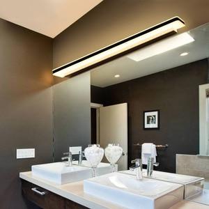 Longer LED Mirror Light Modern Crystal Wall lamp Bathroom Indoor Lighting Fixture Waterproof Home Decoration Sconce Design House