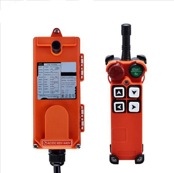 Original TELECRANE Wireless Industrial Remote Controller Electric Hoist Remote Control 1 Transmitter + 1 Receiver F21-4S