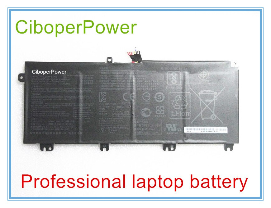 Original 15,2 V 64Wh B41N1711 batería del ordenador portátil para GL503VD GL703VD FX503VM FX63VD