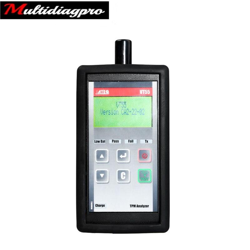 Диагностический и программный инструмент ATEQ VT55 OBDII TPMS поддерживает все транспортные средства