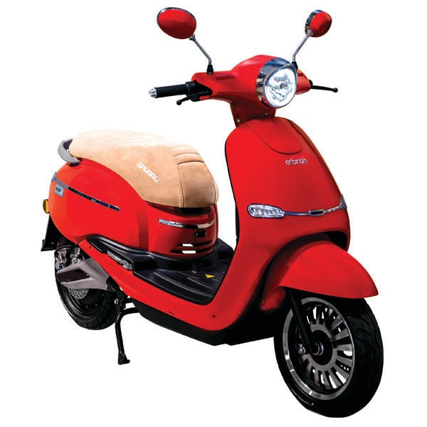 Ebroh Spuma Li Moto eléctrica Scooter Eléctrico de 3000 W LED Movilidad Urbana Varios Colores