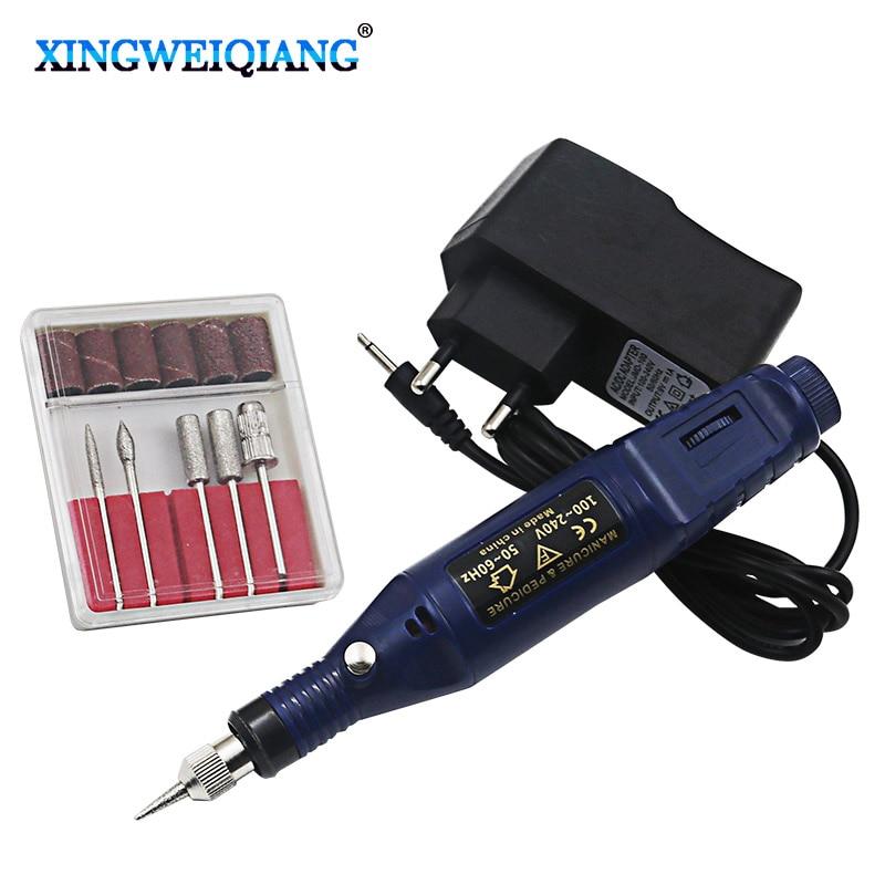 Taladro eléctrico mini taladro eléctrico Mini taladro eléctrico herramientas de molienda herramientas eléctricas para uñas