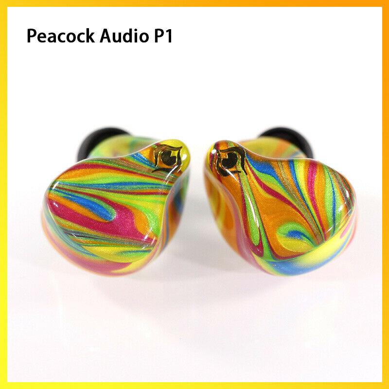 Pavo Real Audio P1 dinámico HiFi auriculares IPX6 impermeable 4,1 Bluetooth con Cable en el oído con Cable desmontable