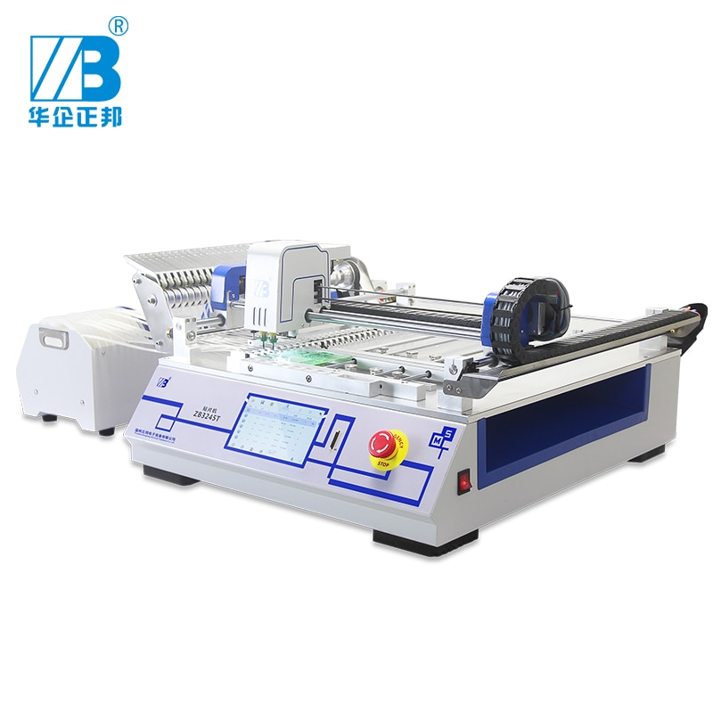 LED SMT high precision pick and place machine with 2 heads /pcb mounting machine