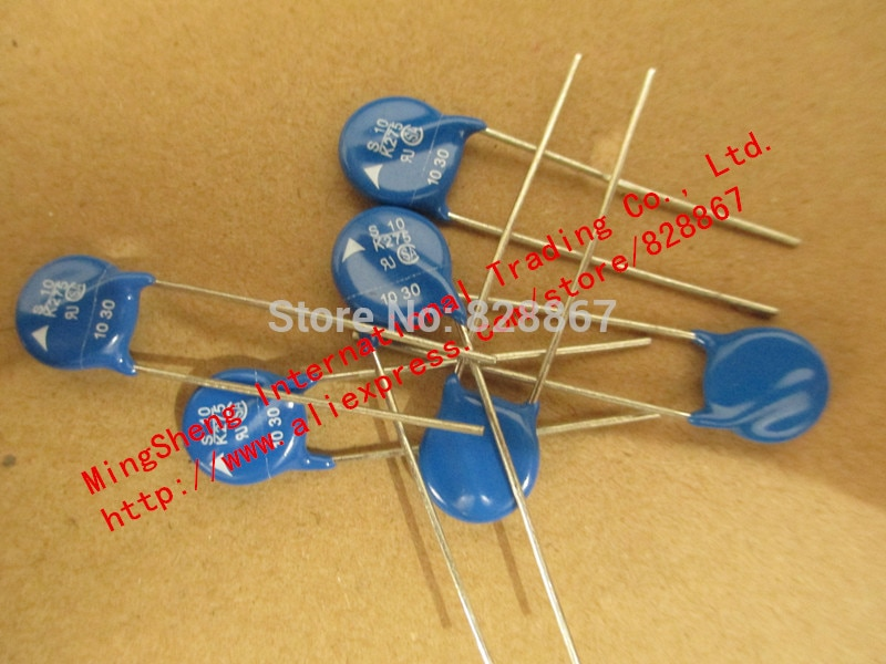 Original new 100% varistor lightning protection tube S10K275 S10 K275 S 10 K275 10K 275VAC (Inductor)