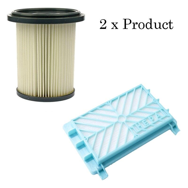 Juego de filtros de aspiradora de repuesto para juego de filtros Philips FC8734