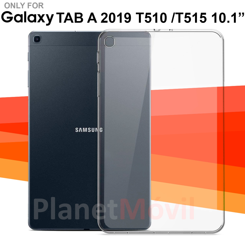 Funda transparente de silicona T510 T515 SAMSUNG GALAXY TAB A 2019 carcasa para tablet