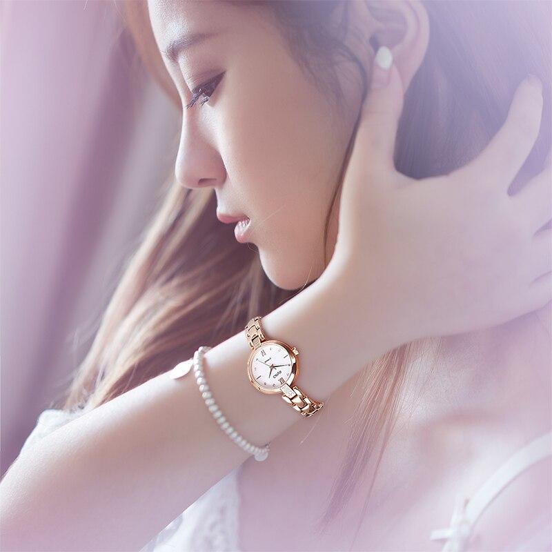 Geya Hot Sales Japan Miyota 2035 Women Watch Luxury Fashion Rose Gold Waterproof Quartz Ladies Wristwatch Elegant Bracelet Clock enlarge