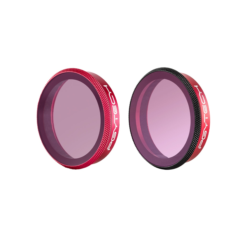 PGYTECH OSMO ACTION Camera Gradient Lens Filter ND8-GR ND16-4 ND32-8 Set Professional Version For DJI OSMO Camera Accessories enlarge