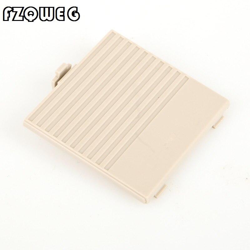 FZQWEG caso tampa da bateria para o clássico game boy GB Sistema DMG Console shell Cinza