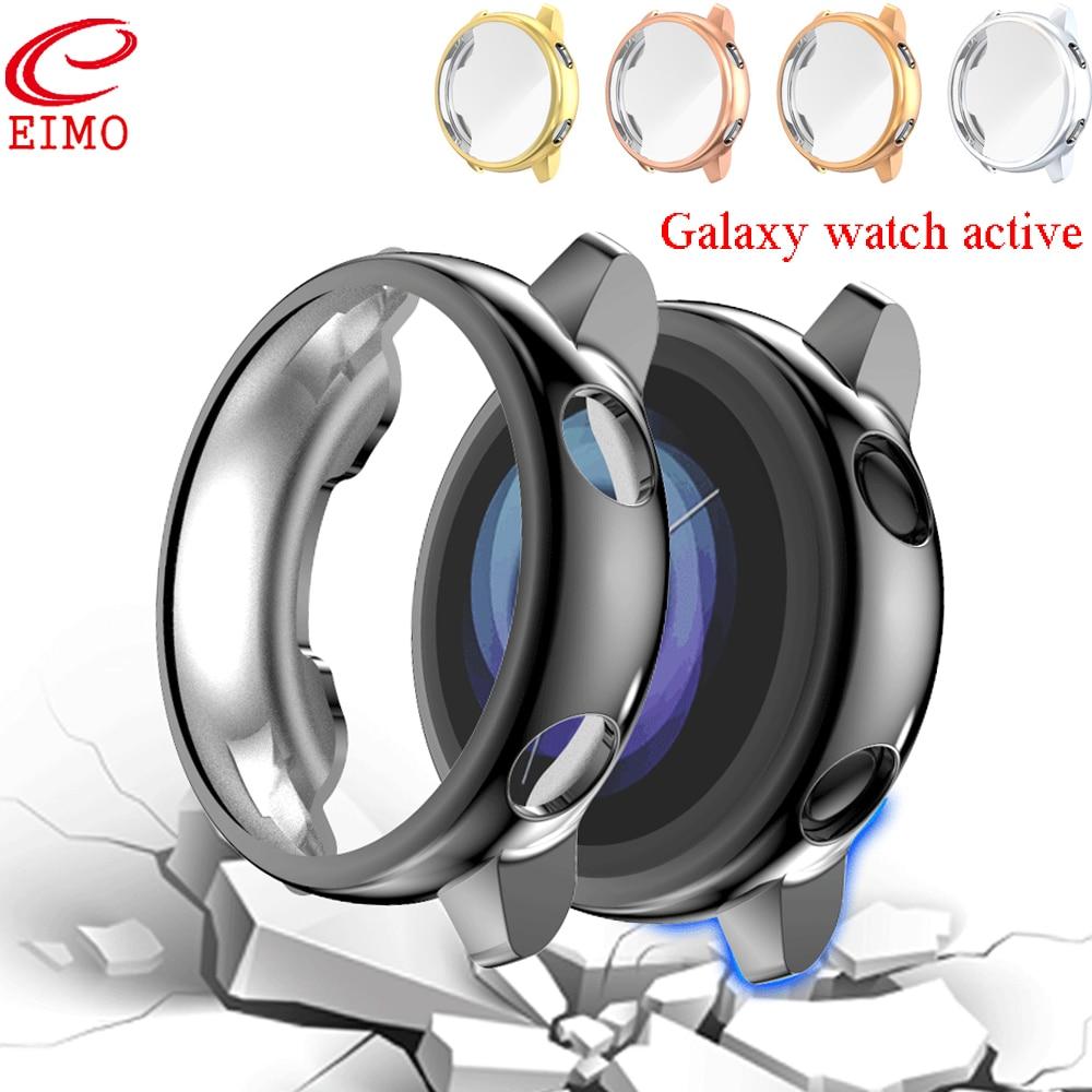 Galaxy watch active para Samsung galaxy watch, funda protectora de pantalla activa, funda de silicona ultradelgada, cobertura completa, parachoques, accesorios