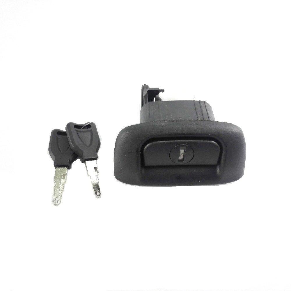 7700431773 7701472508 cerradura de maletero con interruptor de llave para Renault Clio Logan Sedan para Renault Clio Thalia 1998-2010