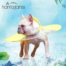 Dog Raincoat Umbrella Cloak Raincoat for Dogs Cute Waterproof Raincoat for Small Medium Dogs Transparent Summer Pet Clothing