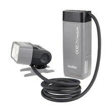 Godox EC200 200W Uzatma Flaş Kafa Godox AD200 Parlama Noktası EVOLV 200 Cep Flaş, 2M Uzun Uzatma Kablosu, ile Çalışır AD200