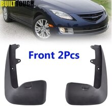 Mazda 6 2009-2013 GH 시리즈 Mudflaps 스플래쉬 가드 진흙 플랩 머드 가드 Fender 2010 2011 2012 용 2Pc 전면 L/R 자동차 머드 플랩