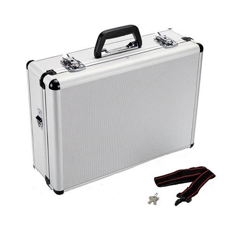 Alyco 170820-mala de alumínio hr alta resistência 45.5x33x15.2 cm