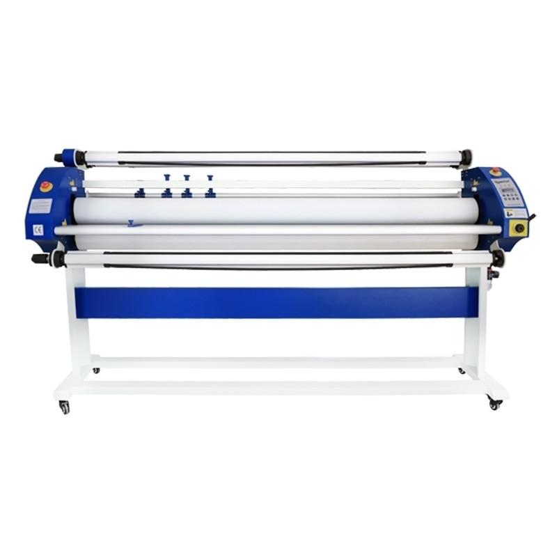 آلة تصفيح اسطوانة الهواء على البارد بسرعة 1600 مللي متر ، آلة تصفيح أوتوماتيكية للفة ، ملصقات الفينيل