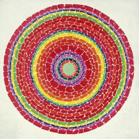 Hohe qualität ölgemälde Leinwand Reproduktionen Frühling in Washington (1971) durch Alma Woodsey Thomas handgemalte
