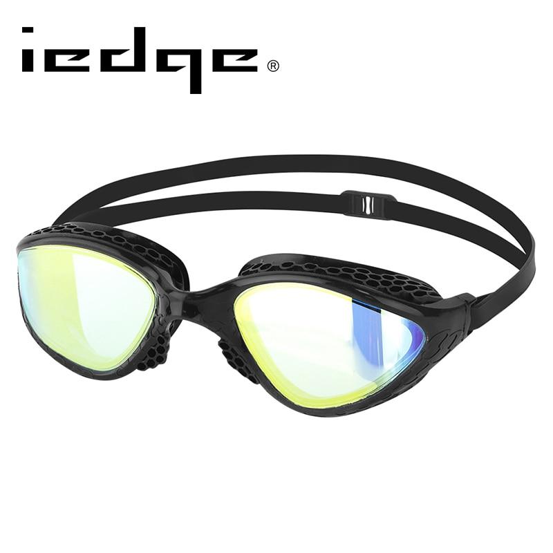 LANE4 Iedge очки для плавания зеркальные линзы запатентованные прокладки Триатлон открытая вода УФ Защита для взрослых женщин мужчин VG-945