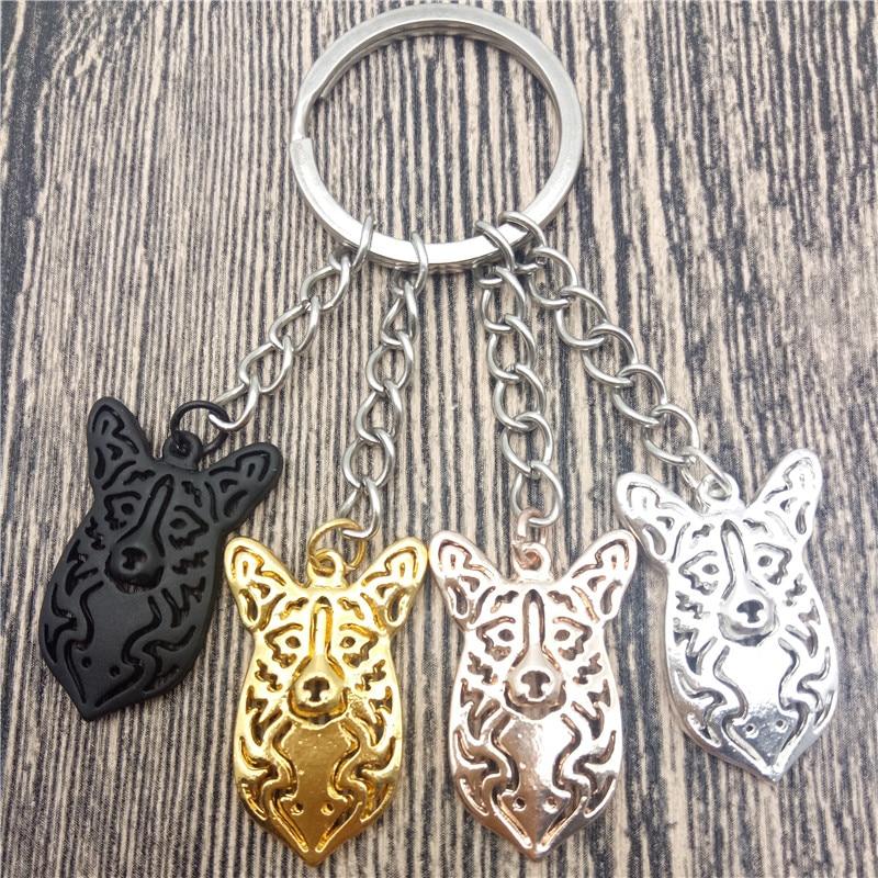 Cardigan porte-clé de voiture homme, corgi, bijoux pour chien, à la mode, avec porte-clé de voiture