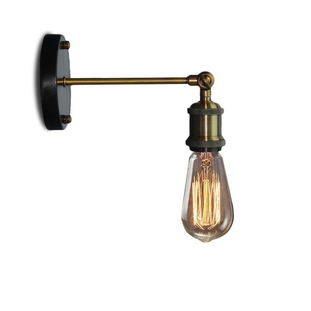 Lámparas clásicas de pared estilo Retro Industrial, lámpara de pared de estilo campestre americano, Lámpara decorativa para el hogar, lámpara E27 para dormitorio, candelabro de pared