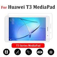 Стекло для планшета Huawei Mediapad T3 7, 8, 9,6 дюйма, T 3, 3T, защитная пленка для экрана 7,0, 8,0, закаленное защитное стекло Huwei