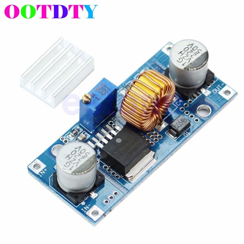 Модуль питания OOTDTY, постоянный ток, постоянный ток, 4-38 в, до 1,25-36 в, 5 А, макс. понижающий блок питания, 24 В, 12 В, 9 В, 5 В, APR19