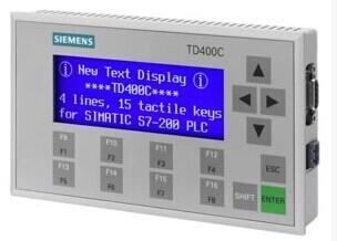 Pantalla de texto TD400C 6AV6 640-0AA00-0AX0, pantalla de panel HMI con RS232/RS485/RS422 para Siemens S7-200 PLC, nueva o usada