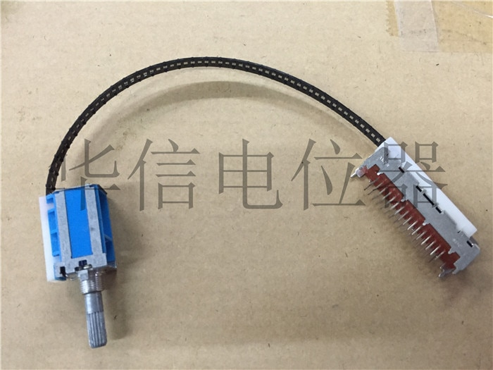 الأصلي جديد 100% مفتاح الكابلات 6 زهر البرقوق 25 مللي متر مقبض طويل أسود كابل جزء هو 20 سنتيمتر