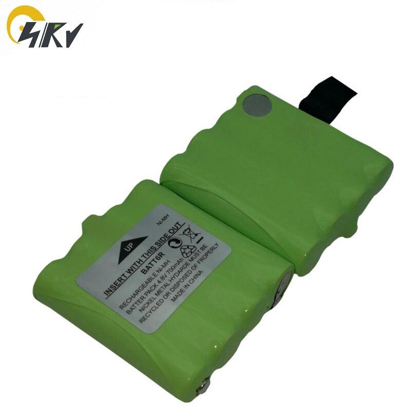 Bateria de 2x4.8 v 700 mah nimh batt6r para rádio bidirecional midland lxt560vp3, lxt490, lxt340, lxt330, lxt350